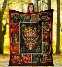Slayer Rock Band For Fans Fleece Blanket Print In USA New