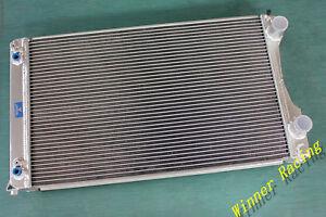 Aluminum Radiator Fit Audi V8 4C 3.6/4.2 Quattro 1988-1994 AT Auto 56mm
