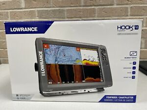 Lowrance Hook2 12 12-Inch Fish Finder W/ Tripleshot Transducer And Us Inland NEW