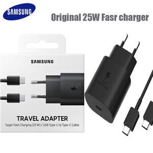 Cargador Samsung Original Super Rapido 25w EP-TA800. Nuevo en Caja