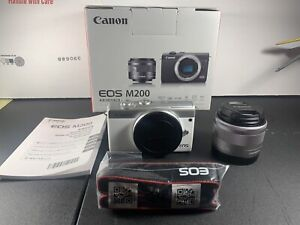 Canon EOS M200 24.1 MP Mirrorless Interchangeable Lens Camera