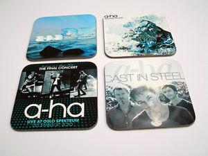 A-Ha Album Cover Great New COASTER Set #3