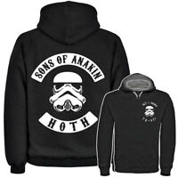 SONS OF ANAKIN ANARCHY MC GANG STYLE HOODIE  (S - 3XL) STORMTROOPER STAR WARS