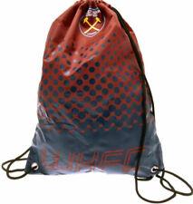 West Ham United FC Drawstring Gym Swimming Bag Official Club Merchandise