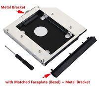 SATA 2nd HDD SSD Hard Drive Caddy for HP ProBook 6440b 6445b 6450b 6455b 6550b