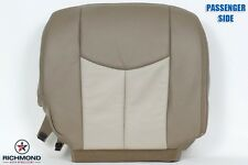 2003-2006 GMC Yukon XL 1500 Denali -Passenger Side Bottom Leather Seat Cover TAN