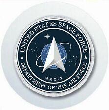 UNITED STATES SPACEFORCE CAR TAX DISC HOLDER REUSABLE PARKING PERMIT HOLDER