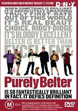 PURELY BELTER - CLASSIC BRITISH COMEDY - NEW & SEALED REGION 4 DVD