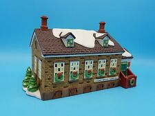 Department 56 New England Stoney Brook Town Hall 56448 New Nib Retired