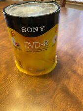 Sony 100 DVD-R 120 minutes 1-16X