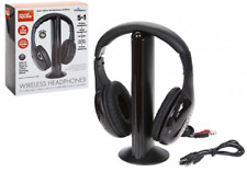 5 IN 1 DELUXE WIRELESS STEREO HEAD PHONES WITH RADIO Sound Republik .
