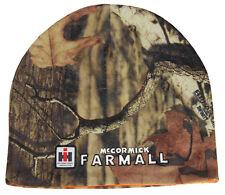 FARMALL CAMO/BLAZE ORANGE REVERSABLE BEANIE