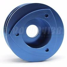 1971-1991 12A 13B ROTARY ENGINE DUAL SHEAVE ALTERNATOR PULLEY ANODIZED BLUE