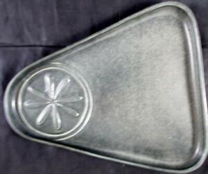 Bennington Pottery BLACK VELVET Snack Plate VERY GOOD CONDITION