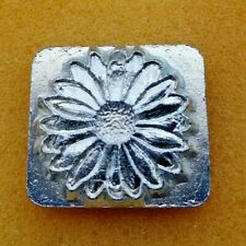 Craftool 8492~Sunflower Flower~Leather Embossing Stamp~1 x 1 1/8