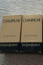 Ysl yves saint laurent champagne 2 x 1,2 ml EDT vintage PROBE/ampolleta