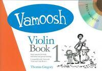 Vamoosh Violin Book 1 Book & CD Violin Tutor, Teaching Methods Gregory