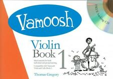 Vamoosh Violin Book 1 Book & CD Violin Tutor, Teaching Methods Gregory