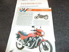 HONDA VT500E-F  SALES LEAFLET