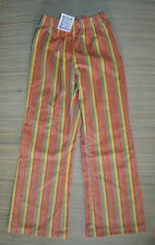 NWT MIS TEE V-US Girls Bold Striped Corduroy Pants Size 10/12 Boutique
