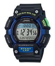 Casio Solar Watch, World Time, Chronograph, 100 Meter WR, 5 Alarms, STLS110H-1B