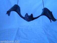 "Rubber Flying Bat Fake Prop Halloween Decoration Haunted House Large 13 1/2""Fun"
