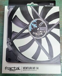 New Open Box Fractal Design Prisma Silent Computer Fan - Venturi HF-14