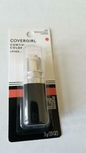 CoverGirl Continuous Color Lipstick, Bronzed Peach [015], 0.13