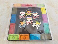 Pin Trading Disney Pins Lot of 6 Full Set Sugar Skull Booster Set Mickey Minnie