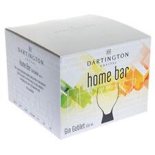 Dartington Crystal Home Bar Gin Goblet Glasses (4 PACK)