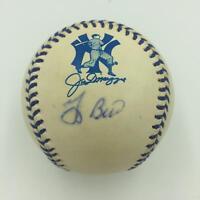Yogi Berra Signed 1998 Joe Dimaggio Day Commemorative Baseball PSA DNA COA
