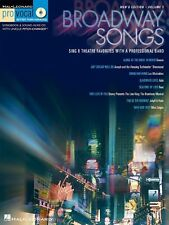 Broadway Songs - For Male Singers: Sing 8 Chart-Topping Songs with a Professiona