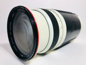 [Exc+++++] COSINA AF 100-400mm f/4.5-6.7 MC Zoom Lens For Canon From Japan