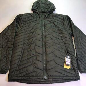 Under Armour Men's XXL Coldgear Reactor Jacket Hooded 1303059 357