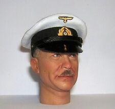 Banjoman 1:6 Scale Custom WW2 German Kriegsmarine White Officer's Cap