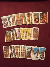 1974 BROOKE BOND FOODS RED ROSE TEA Lot Of 40 CARDS INDIANS of CANADA 25 Diff.