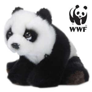 WWF Peluche Collezione - Selvaggi Stories Asia - Panda Bebé Floppy - 15cm -