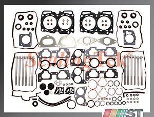 Fit 2004-09 Subaru 2.5L EJ25 SOHC Engine Cylinder Head Gasket Set with Bolts Kit