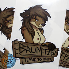 """Aufkleber Drayventhal """"Brunftzeit"""" Sticker Artwork Kunst Reh Digitaldruck Folie"""