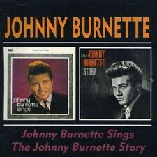 Johnny Burnette Johnny Burnette Sings/Johnny Burnette Story 2on 1 CD NEW SEALED