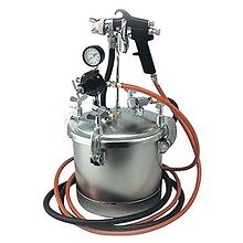 Paint Tank 10lt with Gun + 2m/Hoses  $169.95 Pick Up Only
