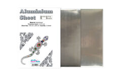 Peak Dale 2 x Aluminium Sheet Pack For Metal Embossing crafting