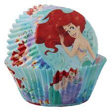 Ariel Little Mermaid Princess Party 50 Cupcake Baking Cups Wilton Patty Pans
