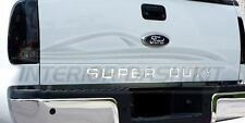 FORD F-250 F250 F350 F-350 SUPER DUTY REAR CHROME LETTERS EMBLEM 2014 2015 2016