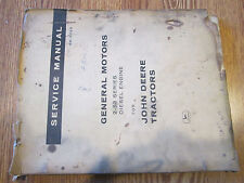 JOHN DEERE General Motors 2-53 series diesel engine SERVICE MANUAL SM-2028