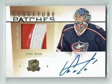 09-10 UD The Cup Signature Patches  Steve Mason  /75  Auto  Patch
