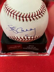 SKIP CARAY Autograph Signed Official MLB Major League Baseball Atlanta Braves