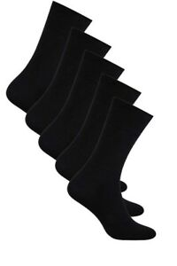 5 packs Men Classic Breathable Cotton Calf Socks Everyday size 5.5 - 11 Aurellie
