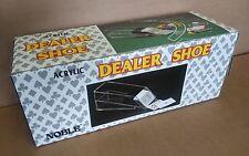 Noble clear Acrylic Dealer Shoe card dispenser . casino blackjack poker .