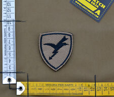"""Ricamata / Embroidered Patch Ita Airborne """"Folgore Sand"""" with VELCRO® brand hook"""